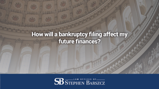 How will a bankruptcy filing affect my future finances?